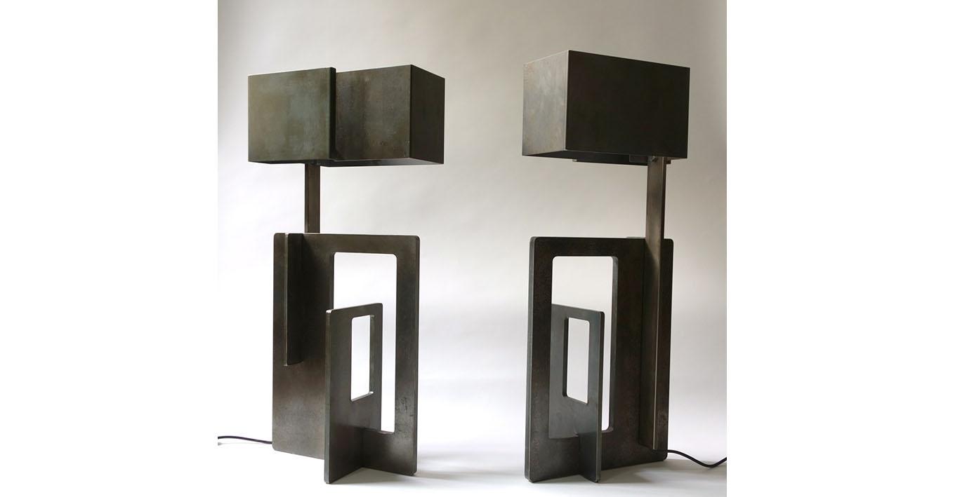 Lampe Angelo Brotto. Éditée par Esperia.