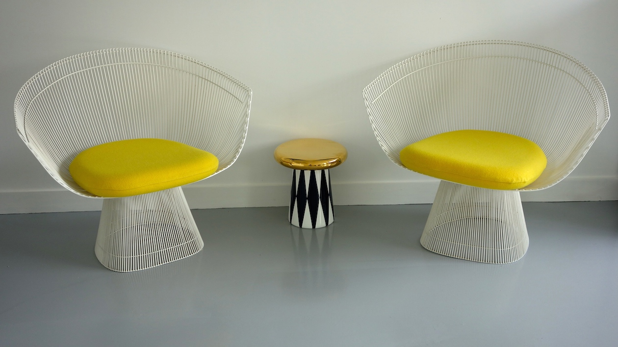 Fauteuils Warren Platner, Knoll international, 1975.