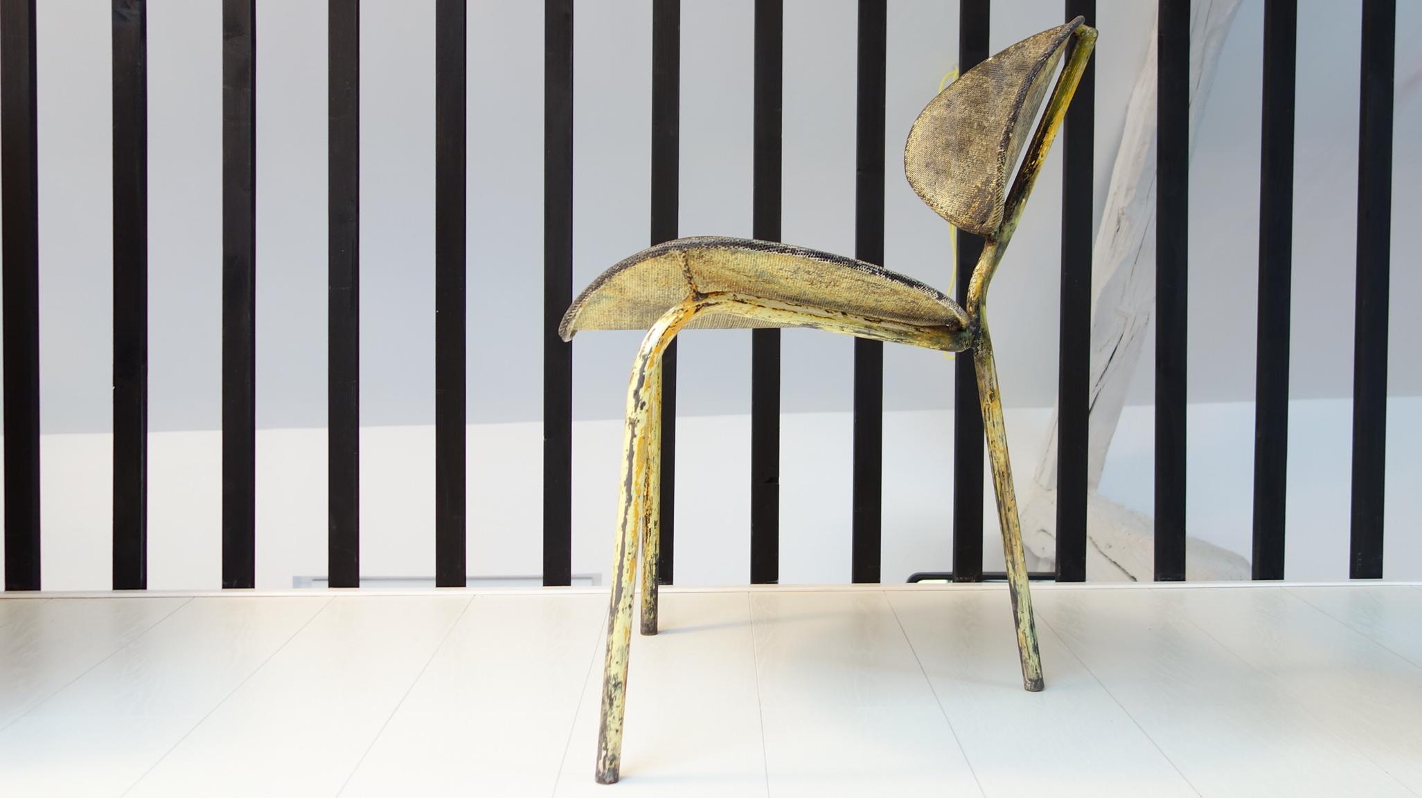 Mathieu Matégot, chaise Nagasaki 1954.