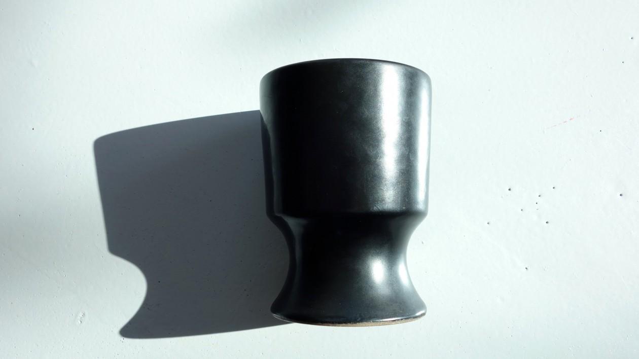 Georges Jouve, céramique noire, 1950.