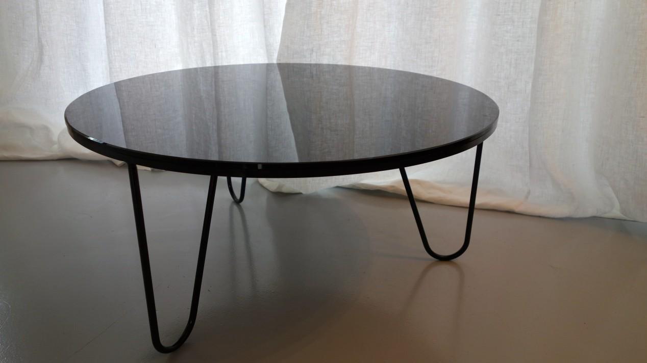 Mathieu Matégot table Bellevue, 1958
