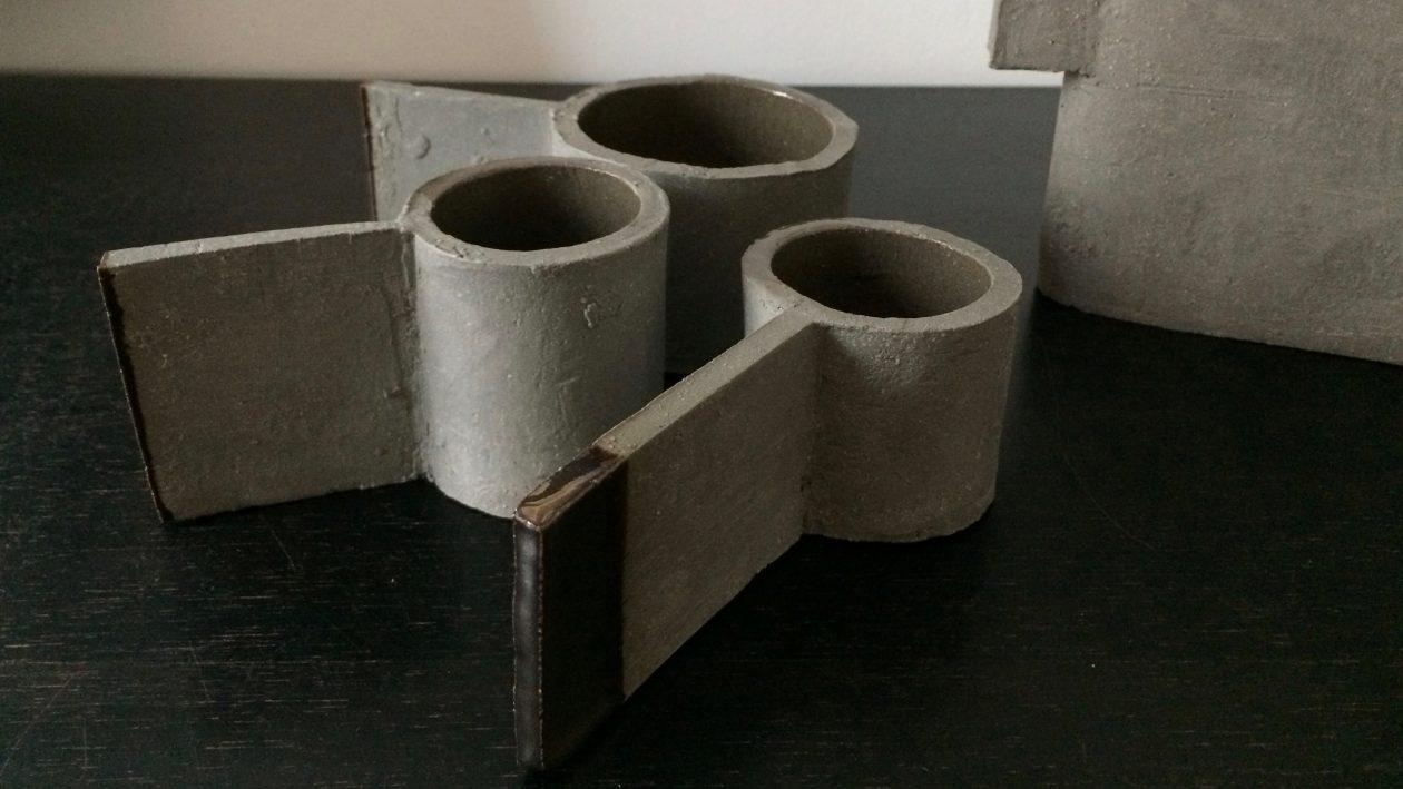fck Frederic Gautier théières béton grès et faïence de ciment. LA T. 2016