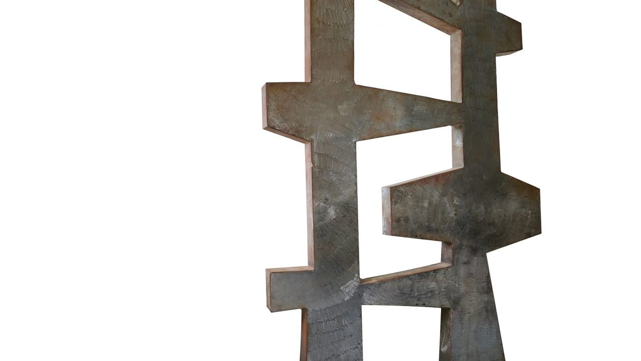 Detilleux Jean-François sculpture métal 1970 belgian artist