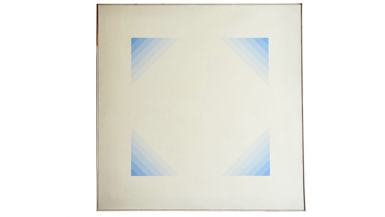 jakob bill abstract painting, galerie denise rené. 1972