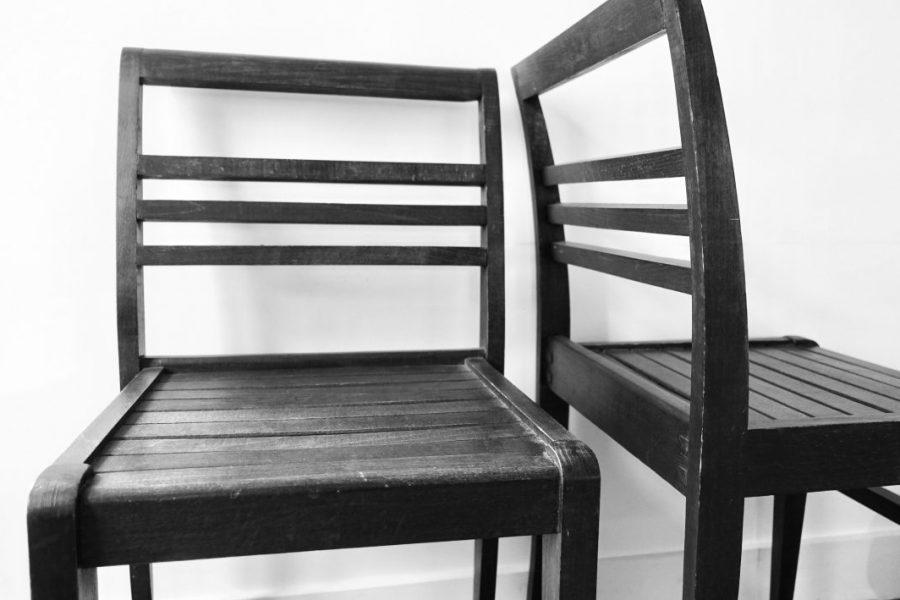 modèle courant de chaise pour sinistrés, René Gabriel. 1943.