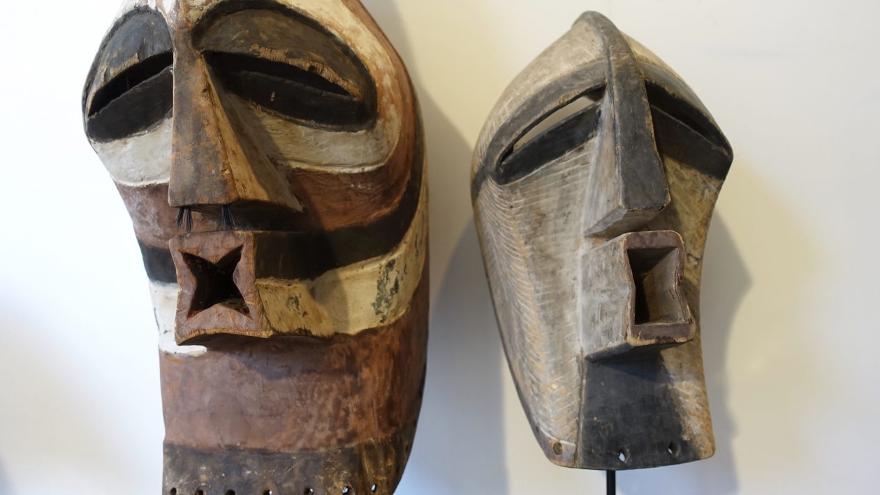 Masque Kifwebe - Songye - RDC Zaire - Masques africains