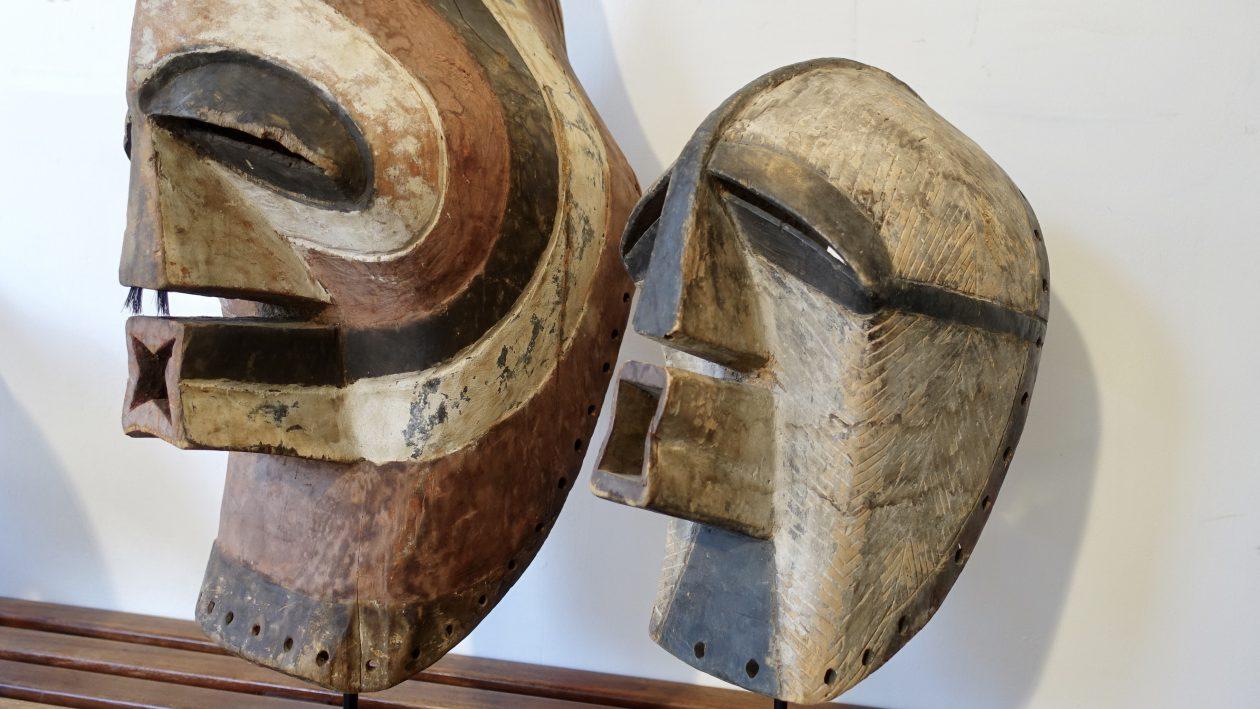 Masque Kifwebe - Songye - RDC Zaire - Masques africains XXè