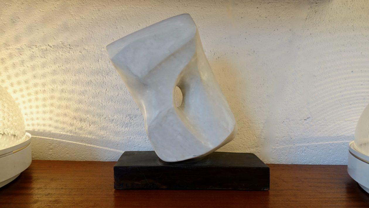 Marc Lerude marble sculpture