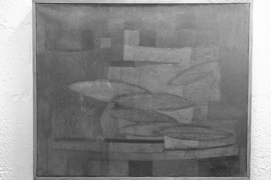 Franchto, peinture abstraite. 1949.