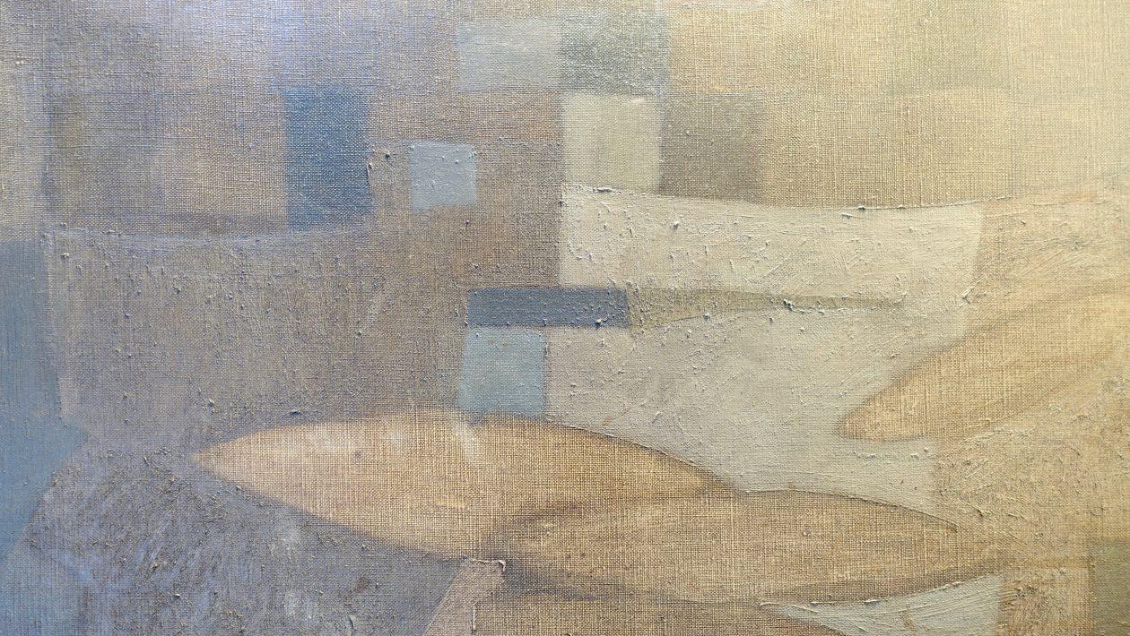 Franchto, peinture abstraite. 1948.