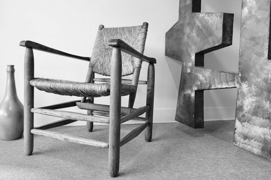 fauteuil Charlotte Perriand. 1950