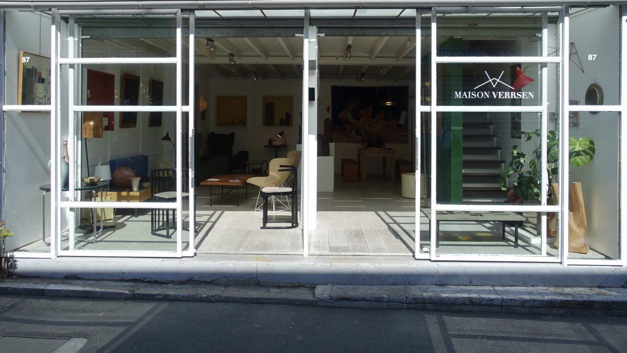Maison verrsen est une galerie spécialisée dans le mobilier darchitectes les luminaires et les objets décoratifs du xxe et xxie siècle
